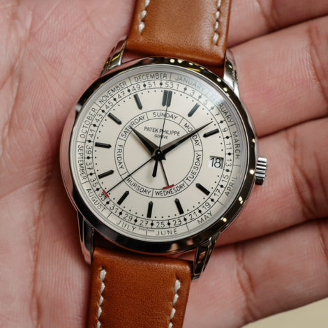 On Hands of Top Patek Philippe Ref. 5212A Calatrava Weekly Calendar Replica Watch