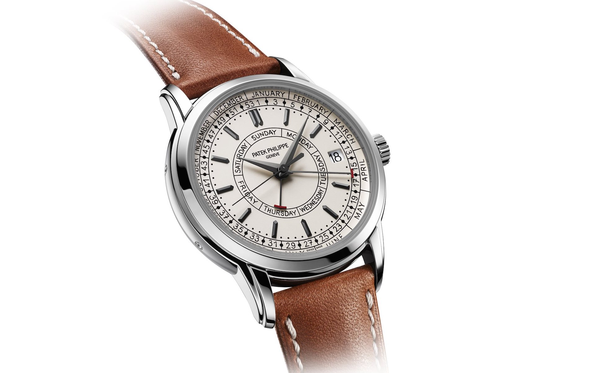On Hands of Reviewing Best Patek Philippe 5212A Calatrava Weekly Calendar Watch