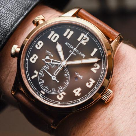 Best Replica Patek Philippe Calatrava Pilot Travel Time Ref. 5524R Watch Review