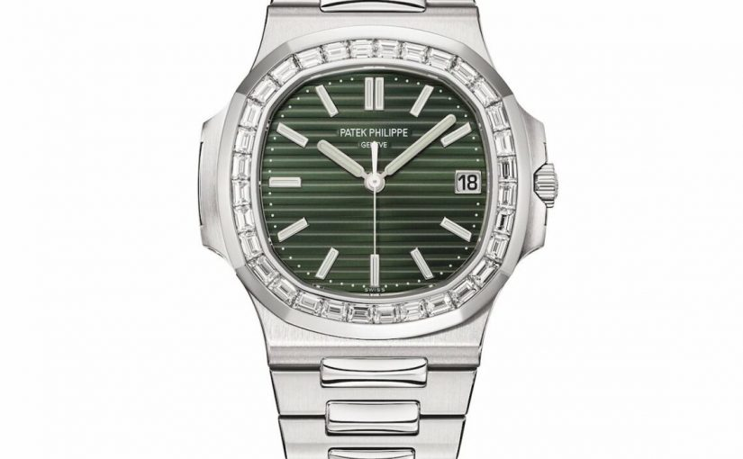 Top Patek Philippe Released New Nautilus 5711/1A-014 Olive Green Dial Replica Watch