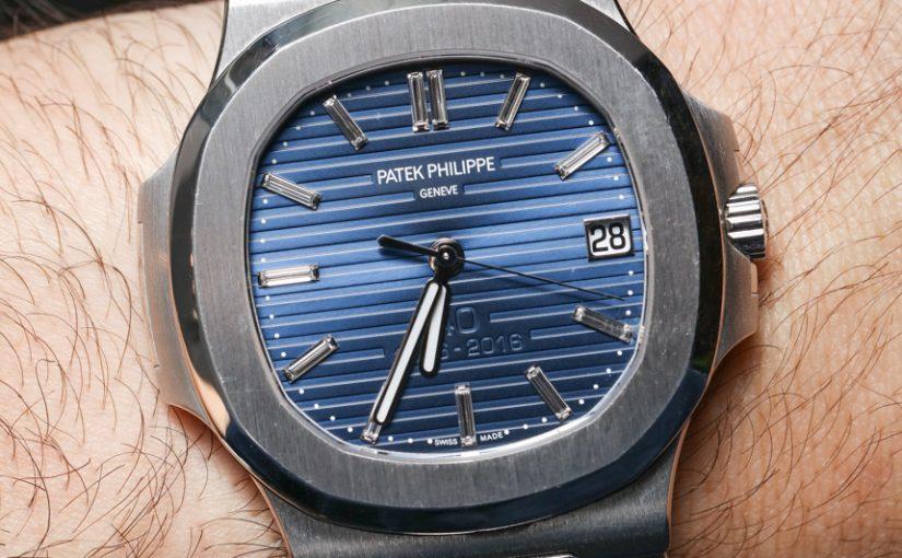 How Patek Philippe Nautilus 40th 5711/1P Platinum Replica Watch