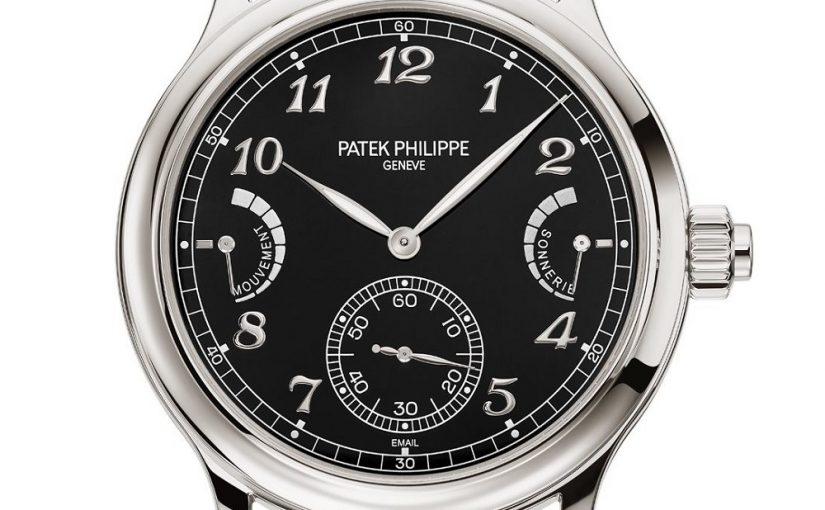 『New』Patek Philippe replica watches Ref. 6301P Grande Sonnerie